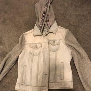 Aeropostale Hooded denim jacket